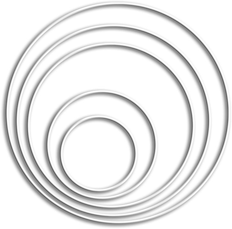 Walter Creativ - Drahtring 20cm Durchmesser
